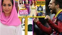 Jordi Alba hẹn hò vẻ đẹp lai nổi tiếng làng điện ảnh Tây Ban Nha