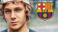 CHÍNH THỨC: 'Messi vùng Balkan' gia nhập Barca