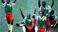 Những sự kiện gây chấn động World Cup: Màn đại náo của 'Sư tử bất khuất' Cameroon
