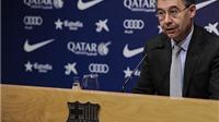 Chủ tịch Barcelona: 'Có bằng chứng cho thấy chúng tôi bị kẻ thù hãm hại'