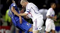 Những sự kiện gây chấn động World Cup: Cú húc đầu 'vĩ đại' của Zinedine Zidane