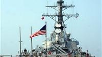 Hình ảnh đội tàu hải quân Hoa Kỳ vừa cập cảng Tiên Sa