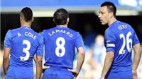 Chelsea: Cech không còn là điểm tựa, Lampard và Terry đã hết thời?