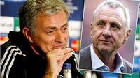Johan Cruyff nhiều lần 'mắng' Mourinho: 'Một kẻ mất trí', 'Hắn cần được tôi dạy dỗ'