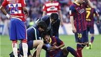 Xem lại pha đóng kịch 'thảm hại' của Neymar