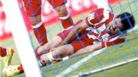 Atletico thắng Getafe, nhưng Diego Costa chấn thương: Quá đắt cho 3 điểm
