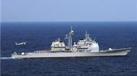 Hỏa hoạn trên tuần dương hạm USS Hue City
