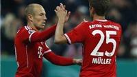 Robben tỏa sáng, Bayern hẹn Dortmund tại chung kết Cúp Quốc gia Đức
