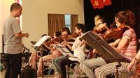 Toàn cảnh buổi tập đầu tiên trước thềm đêm trao giải Âm nhạc Cống hiến lần 9- 2014