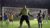 Ibra sút tung mặt Pirlo, Ronaldo nổ súng, 'người khổng lồ xanh' xuất hiện