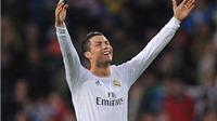 Sau án treo giò, Cristiano Ronaldo không thể ngừng ghi bàn
