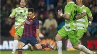Messi ghi bàn, Barca vẫn bị Getafe cầm hòa 2-2 ở Camp Nou