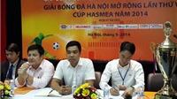 16 đội tranh tài tại Giải bóng đá Hà Nội mở rộng lần 6 - 2014