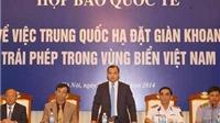 Việt Nam kiên quyết đấu tranh với mọi hành động xâm phạm chủ quyền