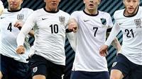 Công bố 23 cầu thủ ĐT Anh dự World Cup 2014: Có Lampard, Gerrard nhưng Carrick thì không