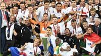 CHÙM ẢNH: Sevilla đăng quang Europa League sau loạt luân lưu nghẹt thở