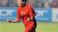 Tiền vệ Trần Thị Kim Hồng: 'Có lo lắng tấm vé World Cup'