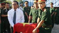 Truy điệu và an táng 21 liệt sĩ quân tình nguyện Việt Nam hy sinh tại Lào