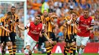 Arsenal - Hull (3-2): 'Thần tài' Ramsey giúp Arsenal chấm dứt gần 9 năm trắng tay