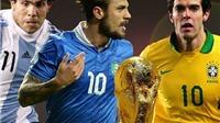 Đội hình 11 ngôi sao bị ĐTQG 'bỏ rơi', không dự World Cup 2014