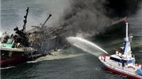 Nguyên nhân tàu chở dầu khổng lồ của Nhật Bản cháy nổ dữ dội