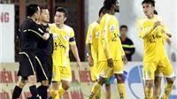 Trung vệ Đinh Tiến Thành: 'Nếu trọng tài bắt công tâm, cầu thủ sẽ không phản ứng'