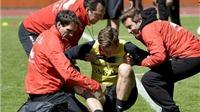 Tập luyện quá hăng, 2 sao tuyển Bỉ dính chấn thương