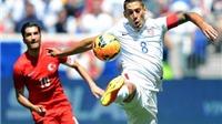 Mỹ 2-1 Thổ Nhĩ Kỳ: Clint Dempsey  vẫn là 'bố già' của tuyển Mỹ