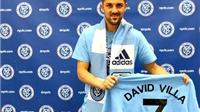 David Villa đã an phận ở Mỹ