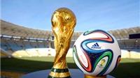 Đoản khúc World Cup: Bóng Brazuca lăn giữa mùa Hè bão táp Biển Đông
