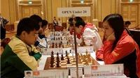 Anh Khôi, Mai Hưng đoạt HCV cờ chớp, Việt Nam lại vô địch