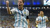 HỌ ĐÃ NÓI, Sabella: 'Tôi hoàn toàn hài lòng'. Messi: 'Tôi đã giải tỏa được tâm lý'
