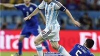 CHÙM ẢNH: Messi 'tả xung hữu đột' giữa vòng vây cầu thủ Bosnia