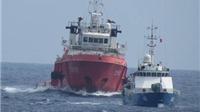 Tàu Trung Quốc áp sát sẵn sàng đâm va, uy hiếp, ngăn cản tàu Việt Nam
