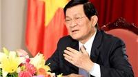 Chủ tịch nước Trương Tấn Sang: Chủ quyền lãnh thổ là thiêng liêng và bất khả xâm phạm đối với bất cứ người Việt Nam nào