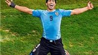 World Cup 22/6: Suarez lên giá... 100 triệu bảng nhờ World Cup. Dzeko muốn trục xuất trọng tài