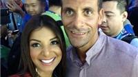 Mỹ nhân truyền hình Costa Rica nổi tiếng nhờ Rio Ferdinand
