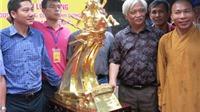Đúc 60 tượng vàng Thánh Gióng đón Giải phóng Thủ đô