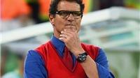 Báo chí Nga chỉ trích HLV Fabio Capello