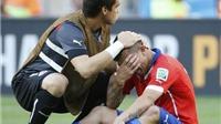 CHÙM ẢNH: Chile thua cuộc nhưng Gary Medel mãi là người hùng
