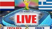 Thông tin thú vị: Costa Rica lần đầu tiên lọt vào 'G-8' bóng đá thế giới