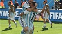 Khi Messi chỉ còn Di Maria làm 'bạn'