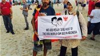 Ghi nhanh từ Brazil: Đi khắp Brazil, vận động cho Indonesia đăng cai World Cup 2022