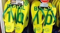 CHÙM ẢNH: Ở Brazil, người ta đã yêu đội tuyển của mình như thế