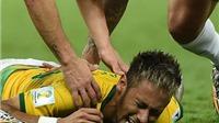 Nếu Brazil thắng Đức, Neymar sẽ tiêm thuốc giảm đau để đá chung kết?