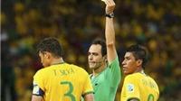 Những ngôi sao nào sẽ vắng mặt ở bán kết World Cup 2014?