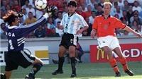 Hà Lan tái ngộ Argentina: Từ bàn thắng của Johan Cruyff cho đến siêu phẩm của Bergkamp