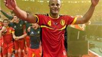 Đội trưởng Vincent Kompany đặt mục tiêu đưa Bỉ vào chung kết