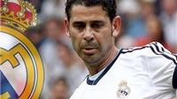 Fernando Hierro thay Zidane làm trợ lí cho Carlo Ancelotti