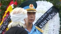 Tang lễ các chiến sĩ hy sinh khi trực thăng Mi-171 rơi: Nghẹn lòng những vòng hoa trắng